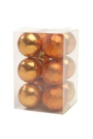 12 Pack 60mm baubles