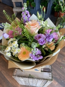 Florist choice pastels bouquet