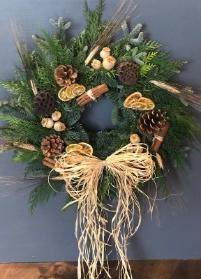 Festive Wreath (Natural style)